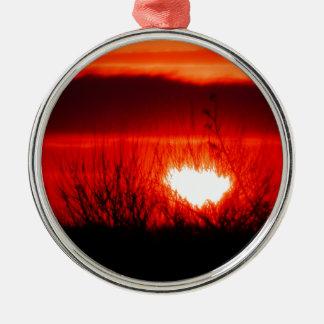 Beautiful Irish Sunset Christmas Ornament