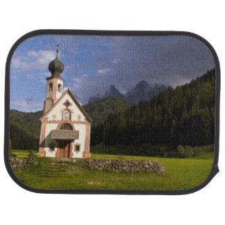 Beautiful isolated lonely church called Rainui Car Mat