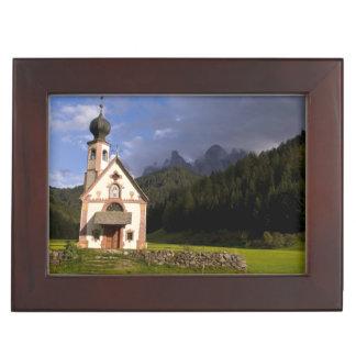 Beautiful isolated lonely church called Rainui Keepsake Box