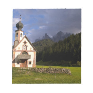 Beautiful isolated lonely church called Rainui Notepad