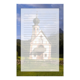 Beautiful isolated lonely church called Rainui Stationery