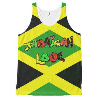 Beautiful Jamaican colors All-Over Print Tank Top