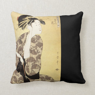 Beautiful Japanese Design Throw Pillow