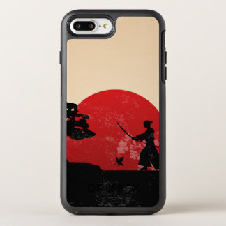 Beautiful Japanese Samurai Sunset | Phone Case
