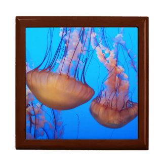 Beautiful Jellyfish Jewelry Box