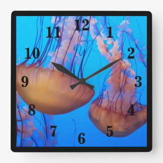 Beautiful Jellyfish Wall Clock