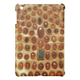 Beautiful Jeweled Gold Plate Art iPad Case iPad Mini Case