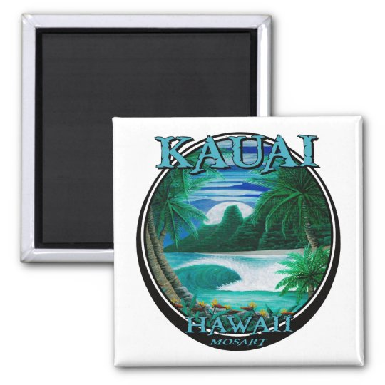 Beautiful kauai hawaii magnet