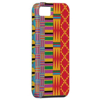 Beautiful Kente Cloth Inspired Global Design iPhone 5 Case