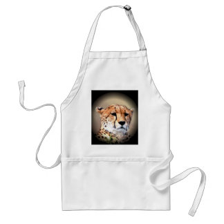 Beautiful Kenya Big Cats Cheetah Customize Product Standard Apron