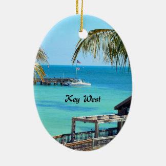 Beautiful Key West Christmas Ornament