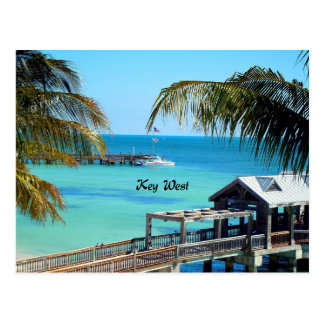 Beautiful Key West Postcard