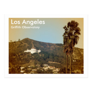 Beautiful LA Observatory Postcard! Postcard