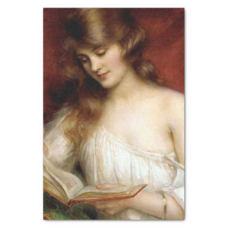 beautiful lady, albert lynch,belle époque painting tissue paper