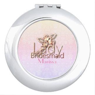 Beautiful--Lady-Bridal_Delicate_Wedding-Favor Travel Mirror