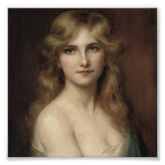 beautiful lady by albert lynch,belle époque,victor photographic print
