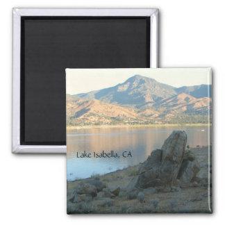 Beautiful Lake Isabella Magnet! Square Magnet