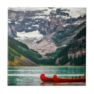 Beautiful Lake Louise, Canada Tile