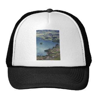 Beautiful Lake Maninjau caldera lake West Sumatra Hat