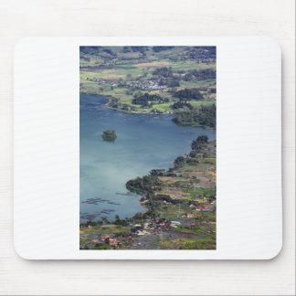 Beautiful Lake Maninjau caldera lake West Sumatra Mouse Pads