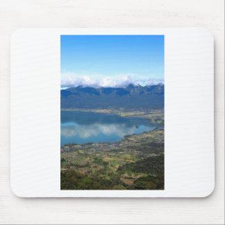 Beautiful Lake Maninjau caldera lake West Sumatra Mousepads