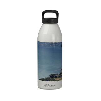 Beautiful Lake Maninjau caldera lake West Sumatra Reusable Water Bottles