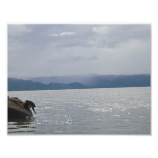 Beautiful lake photo print