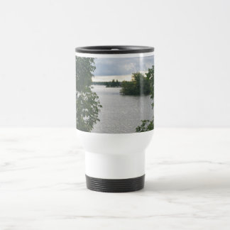 Beautiful Lake View Travel Mug