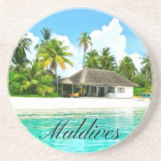 Beautiful Landscape Of Maldives Coaster