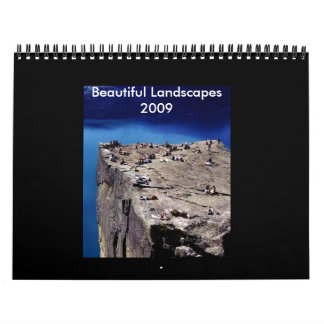 Beautiful Landscapes 2009 - Customized Calendars