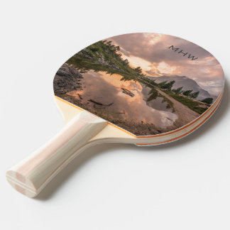 Beautiful Landscapes custom monogram paddle