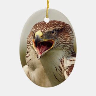 Beautiful Lanner Falcon Ornament
