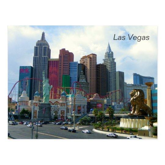 Beautiful Las Vegas View Postcard! Postcard