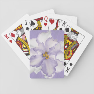Beautiful Lavender Orchid Playing Cards