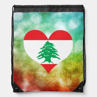Beautiful Lebanese Drawstring Bag