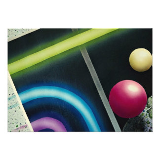 Beautiful Light curve and colorfull balls Invites