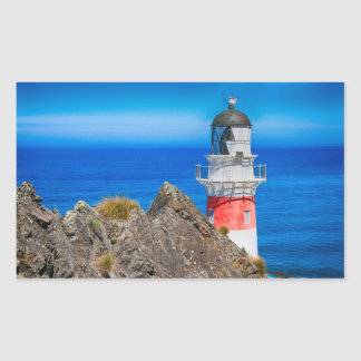 Beautiful Lighthouse on the Ocean Stickers