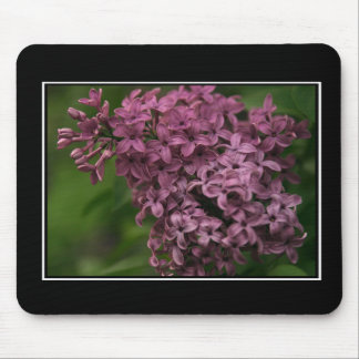 Beautiful Lilac Mousepad! (with border) Mouse Mat