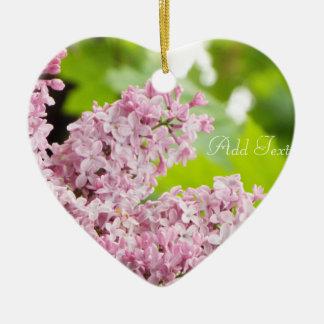 Beautiful lilac ornament