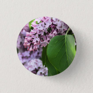 Beautiful Lilac Round Button