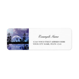 Beautiful little fairy return address label