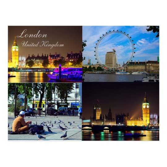 Beautiful London, UK Postcard
