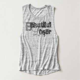 Beautiful Loser-Gray Tank Top