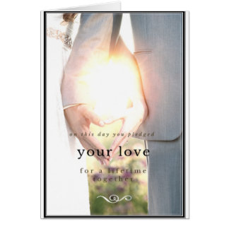Beautiful love anniversary card
