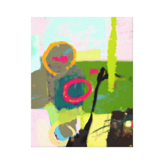 Beautiful love life landscape - Abstract Canvas Print