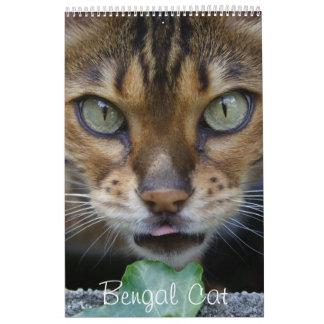 Beautiful Lovely Bengal Cats 2018 Calendar