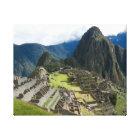 Beautiful Machu Picchu Canvas Print