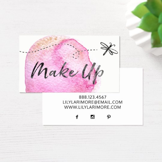★ Beautiful Make up Artist Business Card
