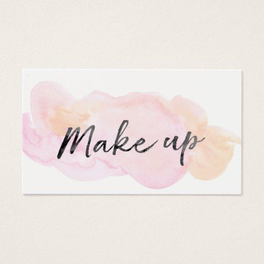 ★ Beautiful Make up Artist Business Card