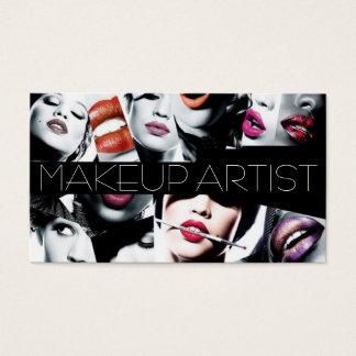 Beautiful Makeup Artist Card
